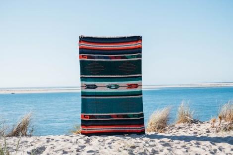Mexican blanket or Sarape - Tierra