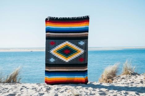 Mexican Blanket or Sarape - Diamond