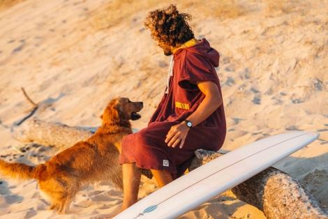 Tibetan Monk Towel Surf Poncho