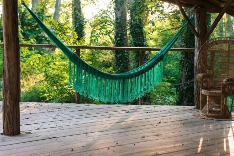 handmade hammock garden