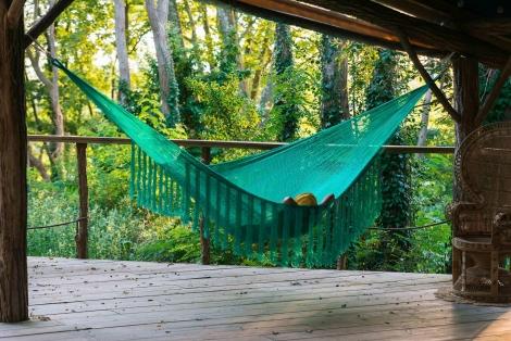 large hammock teal