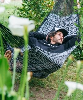 Black hammock cotton