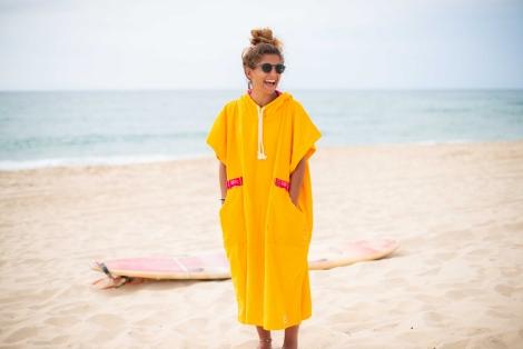 Mango Surf Poncho