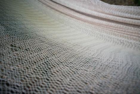 Natural macramé Cotton Hammock