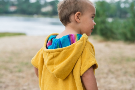 Little Sunshine Baby Surf Poncho